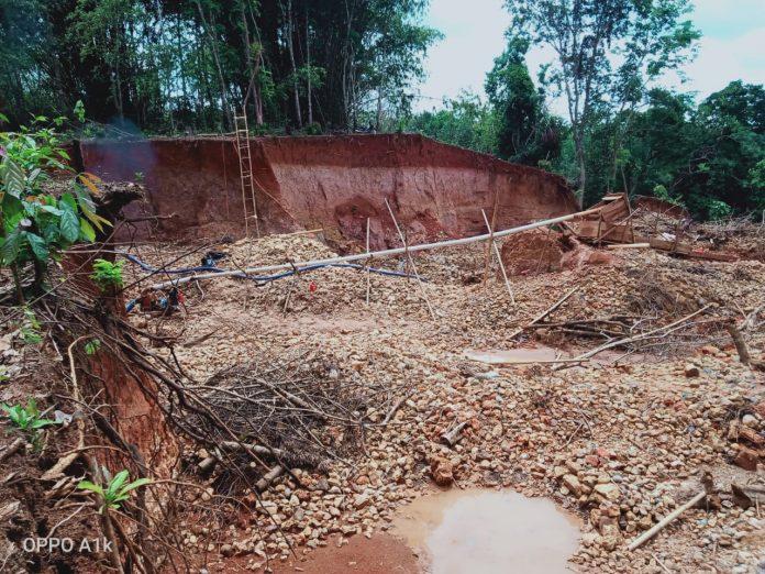 Terkesan Tidak Ada Tindakan Dari APH Waykanan, Masyarakat Meminta Kapolda Lampung Tangkap Penambang Emas Ilegal Di Waykanan