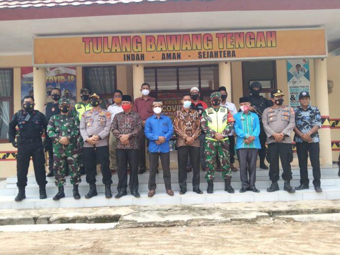 Dandim 0412/LU bersama Kapolres Tubaba Laksanakan Patroli Colling System Pilkati