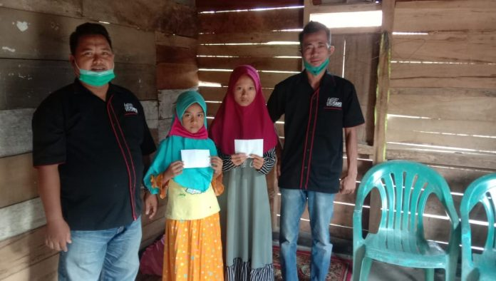 SMSI Tubaba Sampaikan Hak Anak Yatim