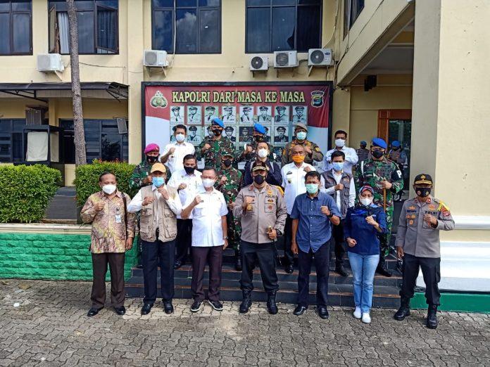 Kapolda Lampung Tinjau Langsung TPS Untuk Memastikan Pilkada Aman Dan Kondusif