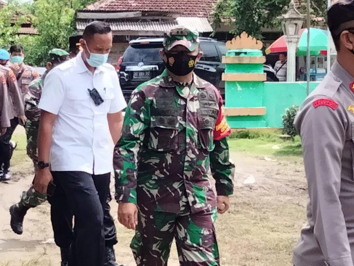 Letkol Inf Harry Prabowo.SE menyampaikan apresiasi kepada Pemerintah Tubaba