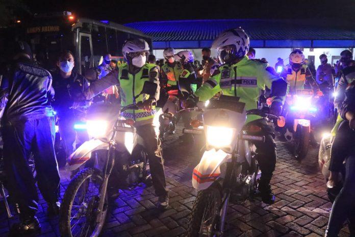 Perayaan Malam Tahun Baru 2021, Polda Sulsel Gelar Patroli Skala Besar