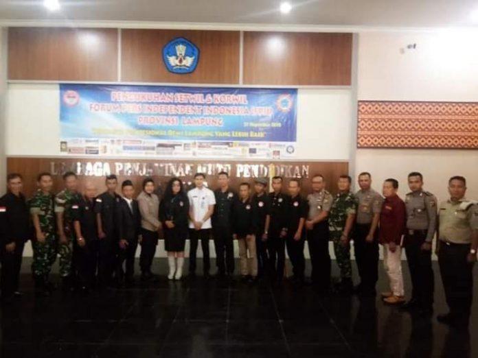 *FPII Setwil Prov. Lampung Laporkan Kegiatan Tahun 2020