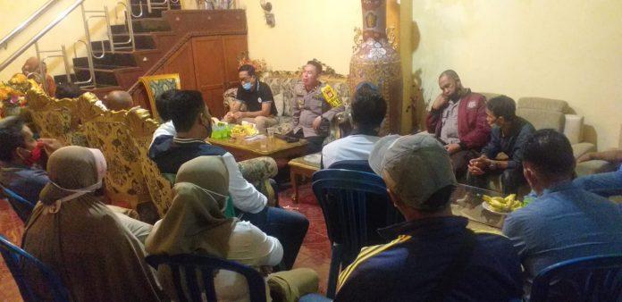 Kapolsek Tallo Bersama Warga Akan Buat Posko Dilokasi Tawuran