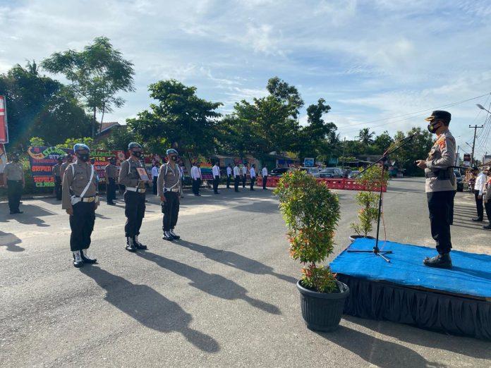 28 Perwira dan Bintara Polri Naik Pangkat