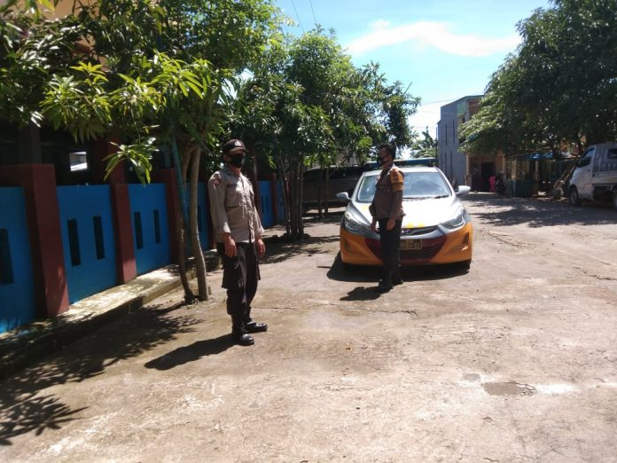 Antisipasi Terjadinya Guantibmas, Personil Polsek Galsel Gelar Patroli Wilayah