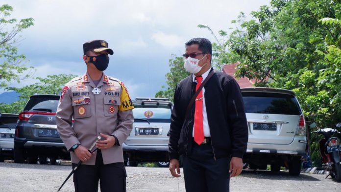 Polres Tana Toraja Menindak Tegas Bagi Yang Langgar Prokes