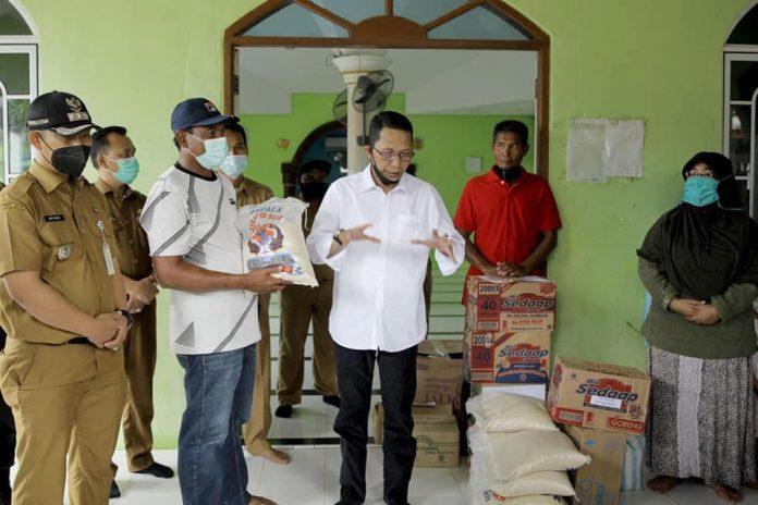 Wakil Wali Kota Tinjau Dampak Bencana Dan Salurkan Bantuan