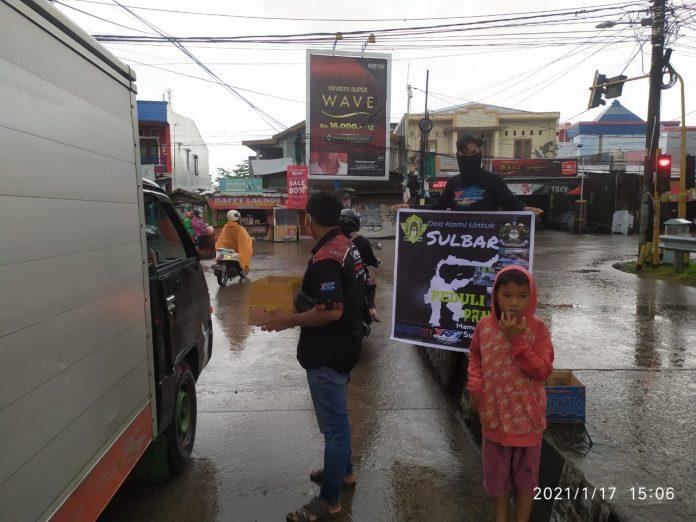 Peduli Korban Gempa, Club Motor FIFA Chapter Makassar Galang Dana