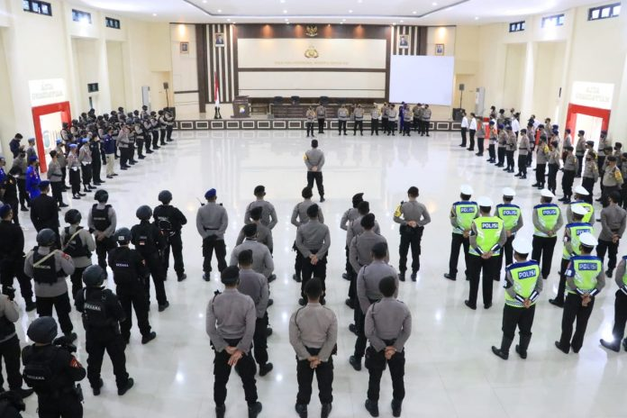 Wakapolda Pimpin Pengecekan Personil Polda Sul-sel Yang Terlibat Operasi Aman Nusa Dalam Rangka Penanganan COVID 19