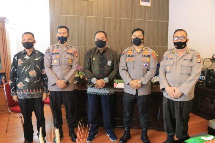 Kabid Humas Polda Sulsel Kunjungi RRI Makassar