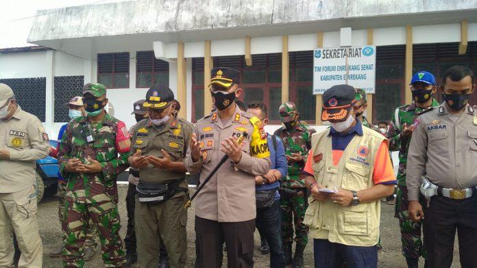 Kapolres Enrekang Lepas Langsung Dan Ikut Dalam Rombongan Bantuan Gempa Di Sulbar