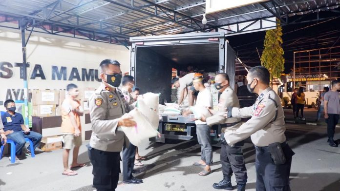 Kapolres Ucapkan Terimakasih Banyak Atas Bantuan Kemanusiaan Yang Diberikan Masyarakat Tana Toraja
