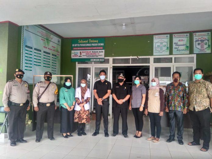 Poned Kecamatan Pagar Dewa Menerima 45 Vaksin Sinovac Untuk Tenaga Medis