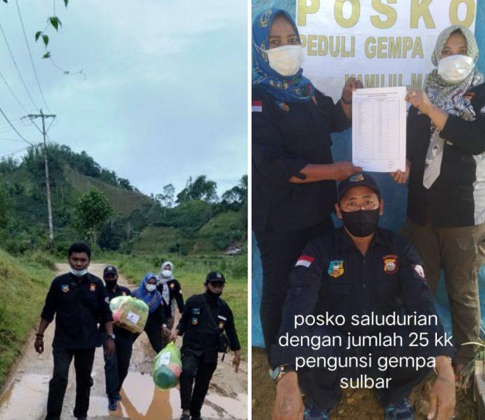 FKPM Kecamatan Tallo Salurkan Bantuan Ke Korban Gempa di Sulbar