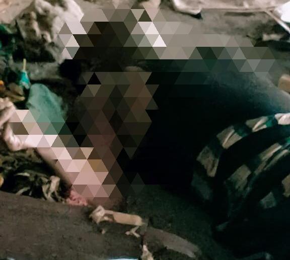 Lubukbaja dikagetkan dengan penemuan mayat pria tak dikenal di bawah rumah panggung