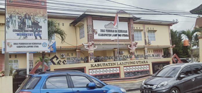 Kepala Disdikbud Lampung Utara Positif Covid-19