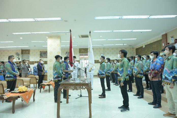 Resmi Dilantik, BPC HIPMI Pesawaran Siap Bersinergi Dengan Pemerintah Daerah