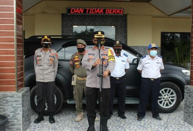 AKBP Hadi Saepul Rahman S.IK pimpin jalannya Operasi Yustisi