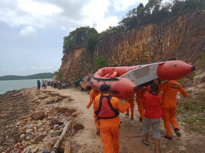 Warga Tanjung piayu Hilang di bawah arus deras.