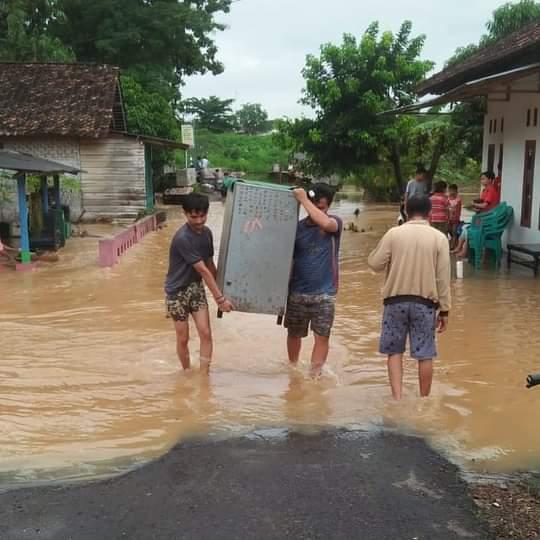 Puluhan Rumah Warga Tanjung Aman Keluhkan Banjir Tahunan