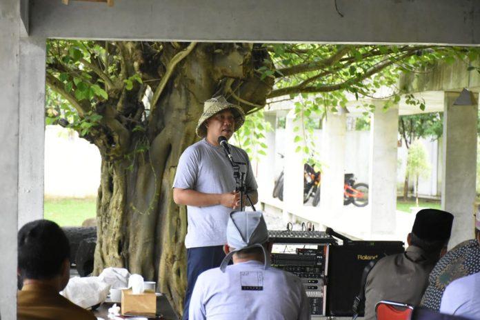 Umar Ahmad, SP Membuka Acara Field Trip Kepalow Tiyuh Serta Musrembang Kecamatan Gunung Agung