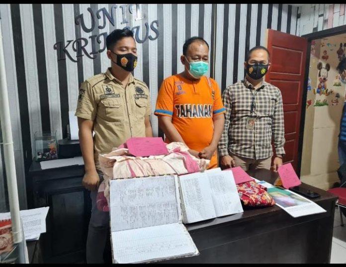 Satuan Reserse Keriminal Polres, Mengamankan Seorang Oknum DPRD Tubaba Berinisial SDM
