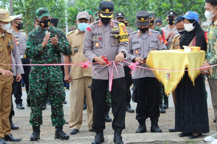 Tiyuh Marga Kencana Resmi Di Nobatkan Menjadi Kampung Tangguh Nusantara