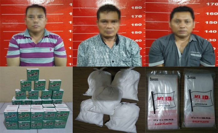 Tiga Pelaku Penipuan di Toko Fotocopy,Di Tangkap Polisi Kompol Devi : Begini Modusnya