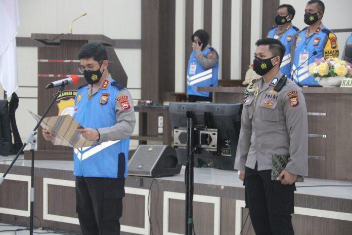 Pengambilan Sumpah Panitia Seleksi PKK tingkat II dan S-1 STIK PTIK T.A.2021 Polda Sulsel