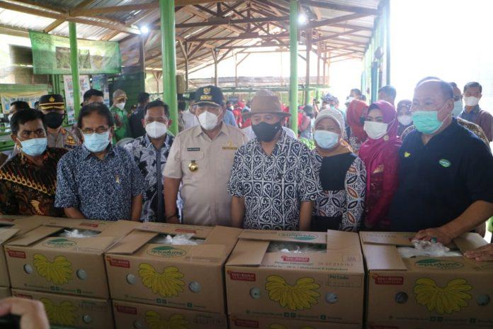 Dua Menteri Kabinet Indonesia Maju mengunjungi Kabupaten Tanggamus