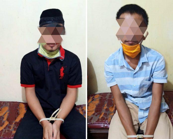 Satreskrim Polres Metro Berhasil menangkap 2 pelaku pencurian sepeda motor
