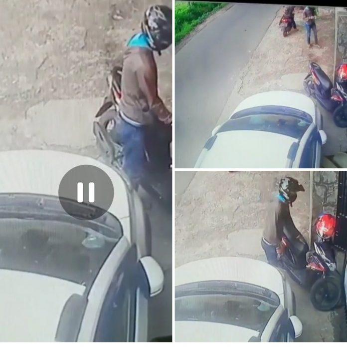 Pencuri Gagal Menggasak Sepeda Motor di Margorejo Metro Selatan