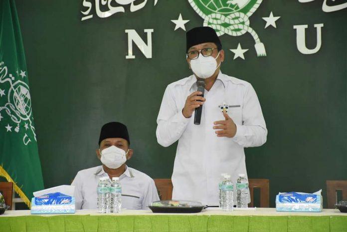 Walikota dan Wakil Walikota Metro Silaturahmi dengan Pengurus Cabang Nahdatul Ulama (PCNU)