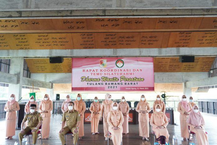 Dharma Wanita Tubaba Menggelar Rapat Kordinasi Dan Silaturahmi
