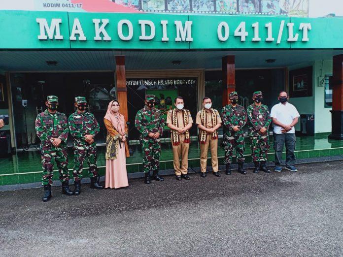 Wahdi Qomaru Berkunjung ke Polres dan Kodim 0411 LT.