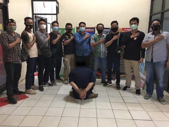 Polisi Ringkus Pelaku Diduga Lakukan Pemerasan Sopir Truck di Jalinsum Way Kanan