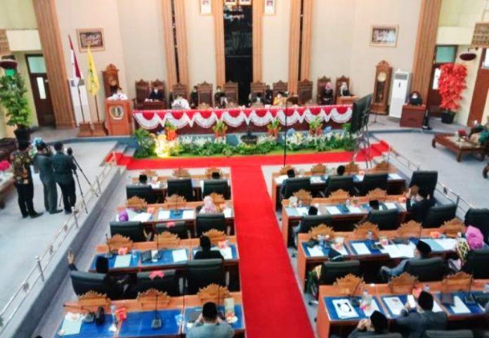 Rapat Paripurna DPRD Lampung Timur, Mantapkan Kinerja Bupati dan Wakil Bupati Lampung Timur