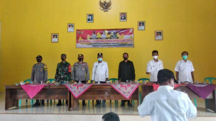 Launching Kampung Tangguh Margo Dadi Kecamatan Tumijajar Kabupaten Tubaba