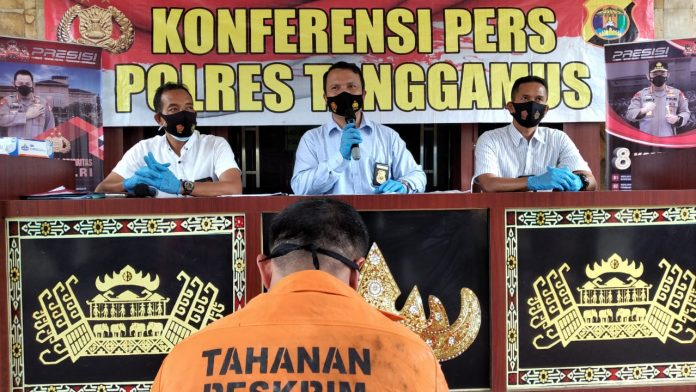 Mantan Kakon Pematang Sawa Ditangkap Polres Tanggamus dalam Kasus Penipuan
