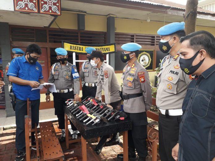 Propam Polrestabes Makassar Gelar Gaktiblin Di Polsek Makassar