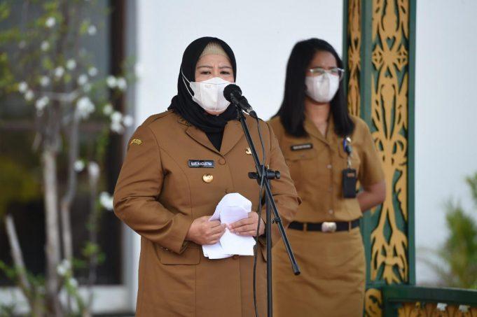 Wakil Gubernur Marlin Agustin's mengajak masyarakat Kepri Saling Bahu Bahu Membahu Bangun Kepri