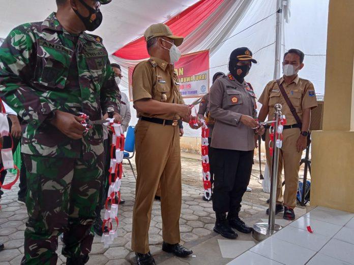 Walikota Metro Lampung Meresmikan KTN di Kelurahan Yosorejo
