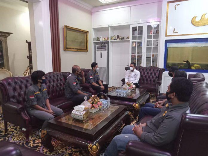Serikat Media Siber (SMSI) Audensi Bersama Walikota Metro Lampung