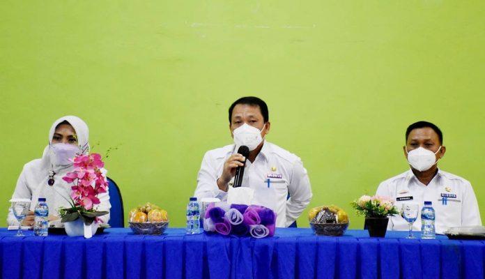 Walikota Metro Lampung dan Wakil Hadiri Coffe Break di RSUD A. Yani