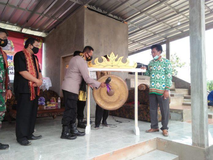 Tiyuh Bujung Dewa Resmi Menjadi Kampung Tangguh Nusantara(KTN)