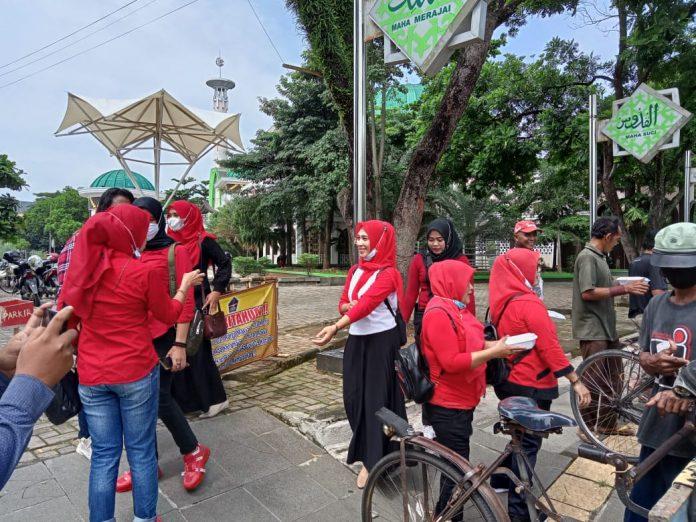 BARAK NKRI Kota Metro Lampung Melaksanakan Program Jum'at Berkah