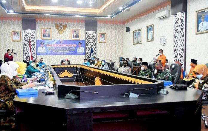 Wagub Lampung Hadiri Musrenbang Kota Dalam Rangka Penyusunan Dokumen RKPD Tahun 2022
