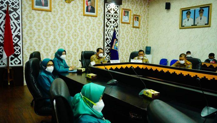 Pemerintah Kota Metro mengikuti webinar tentang perlindungan hukum bagi perempuan dan anak korban kekerasan