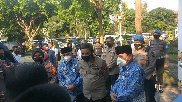 Kapolda Lampung Melakukan Kunjungan Kerja Di Polres Kota Metro